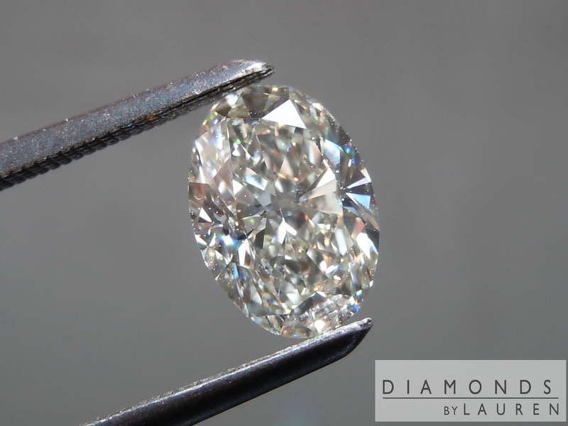near coloress diamond