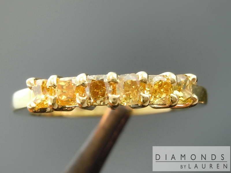 canary diamond ring