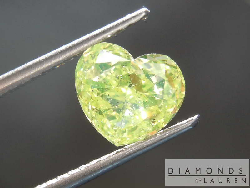 neon green diamond