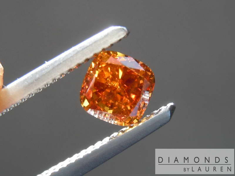 orange diamond