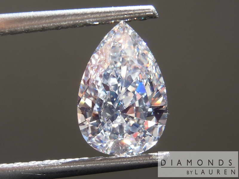 complely colorless diamond