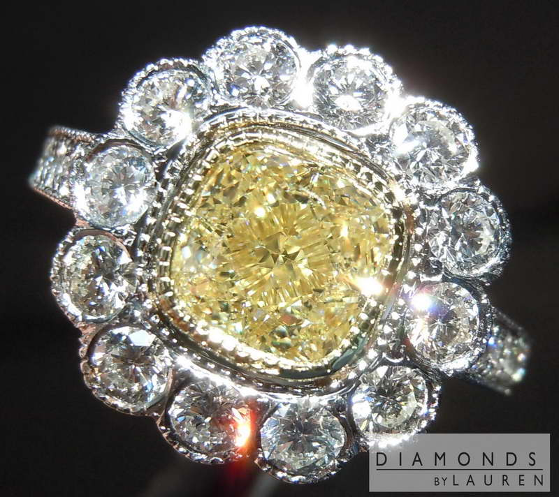 u-v diamond ring