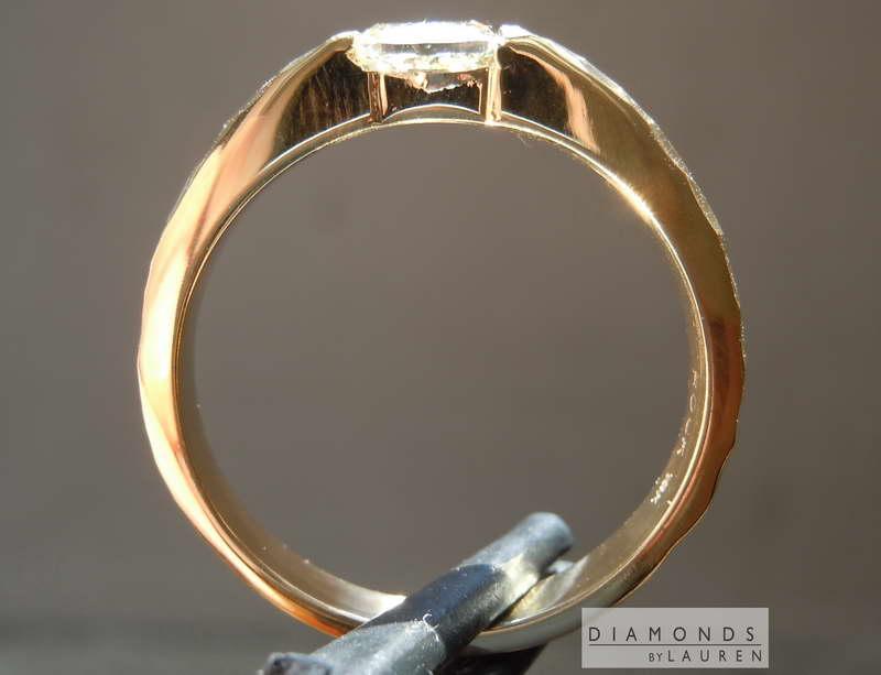 light yellow diamond band