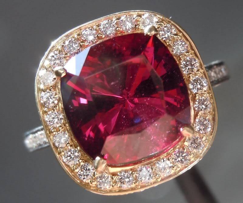 Diamond Ring 212 Estate Vintage 3 0ctw Cushion Cut Diamond