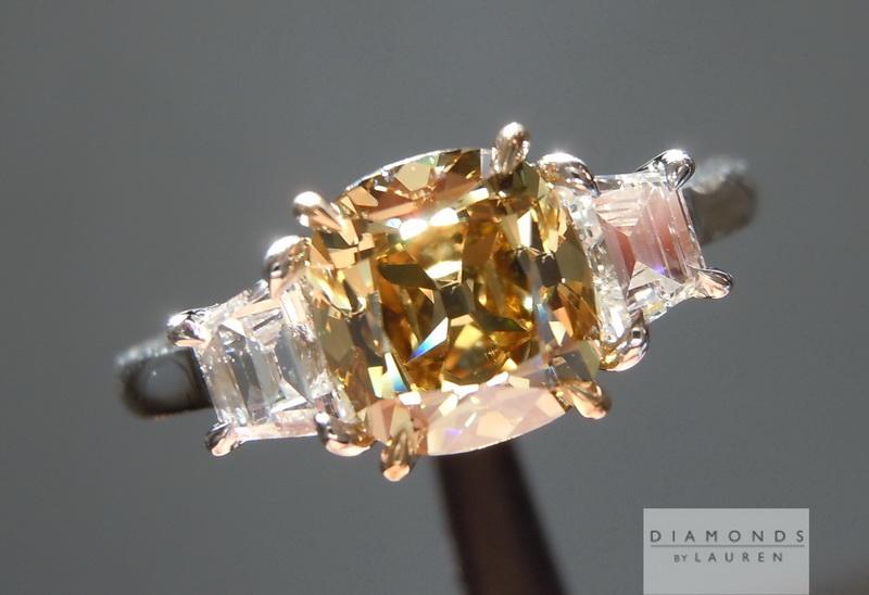 old mine briliant diamond ring