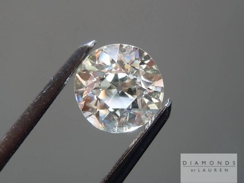 european cut diamond