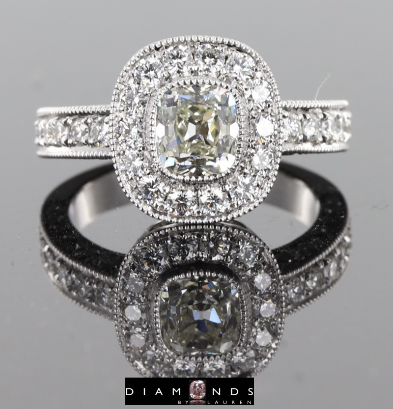 old minediamond ring