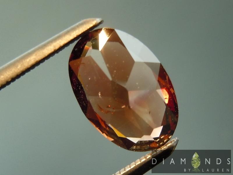 orange brown diamond