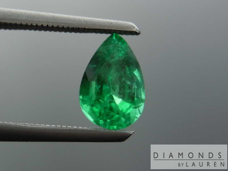 pear shape emerald