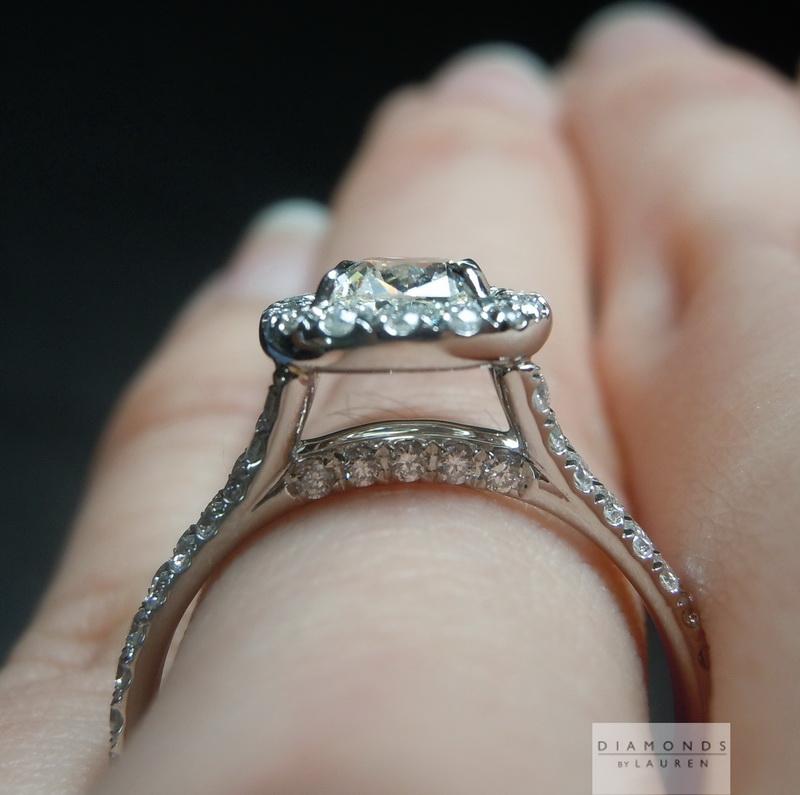 near diamond ring