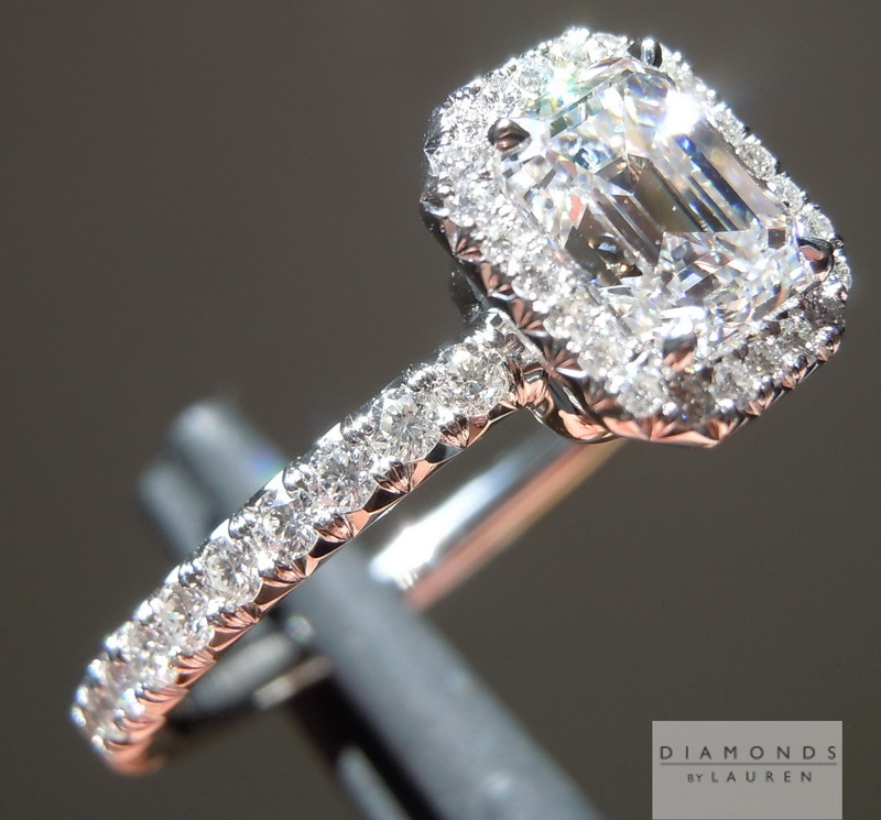 completely diamond ring