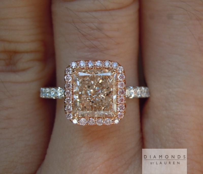gia pink diamond ring