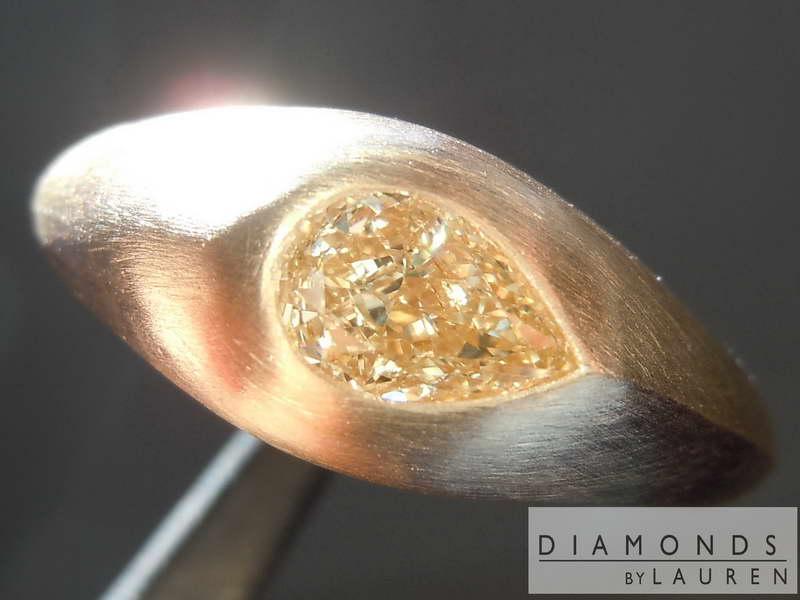 golden diamond ring
