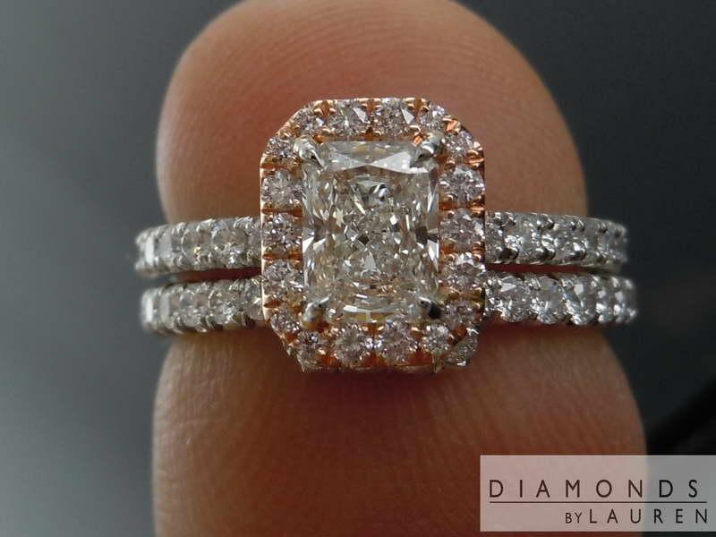 colroless diamond ring