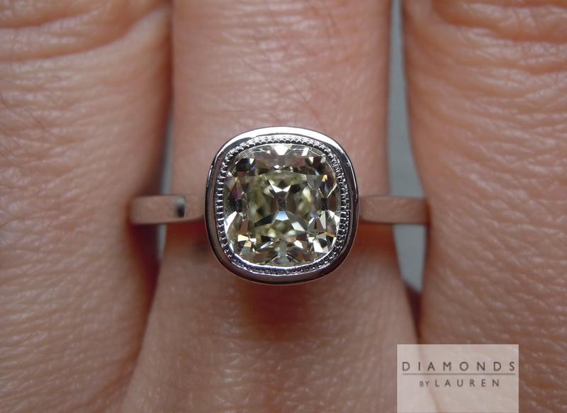 ivory diamond ring