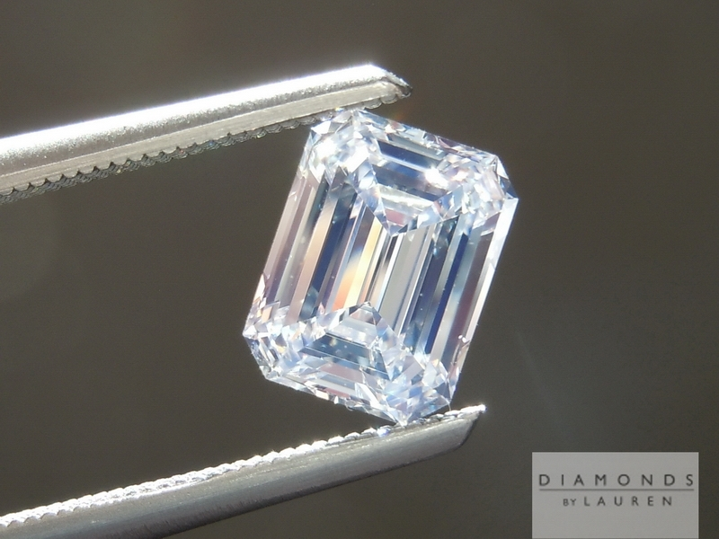 completely colorless diamond