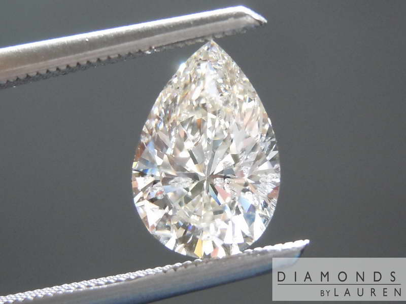 faint brown diamond