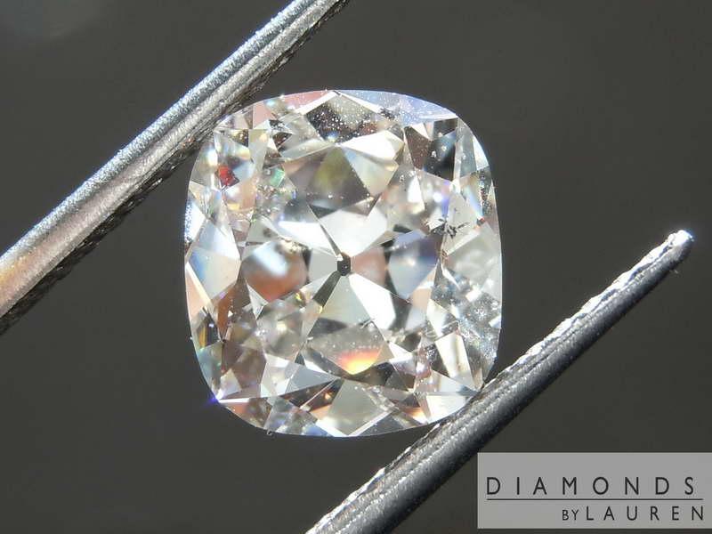faint brown diamond