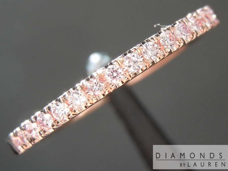 pink diamond band