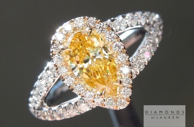 gia orange diamond ring