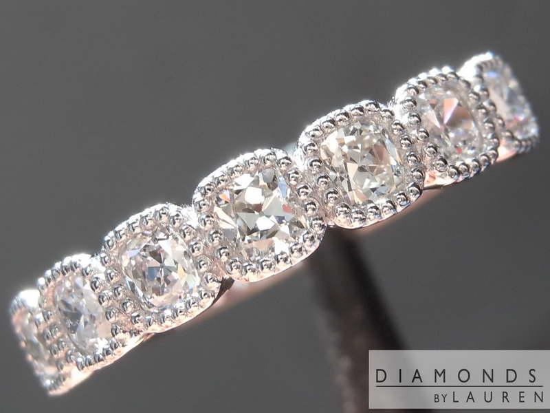 old mine brilliant diamond ring