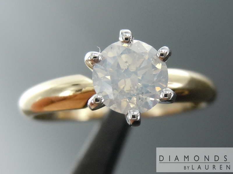 natural white diamond