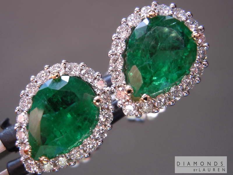 emarald earrings