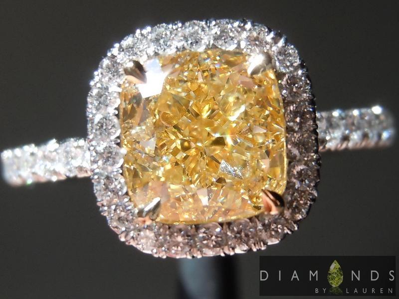 yellow diamondring