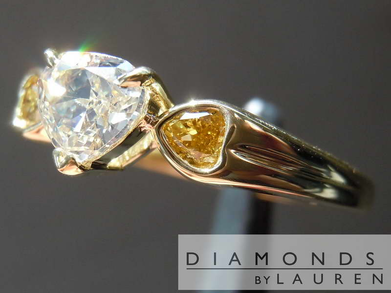 yellow diamon dring