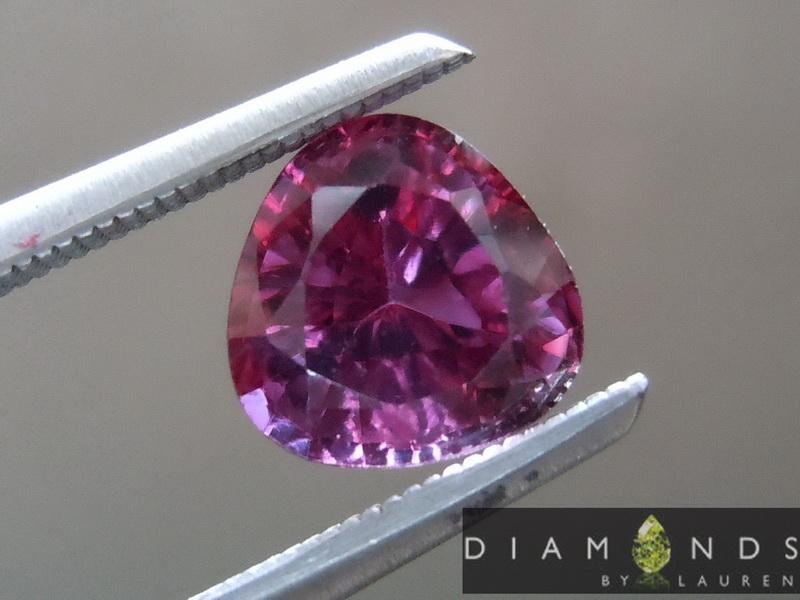natural purple sapphire