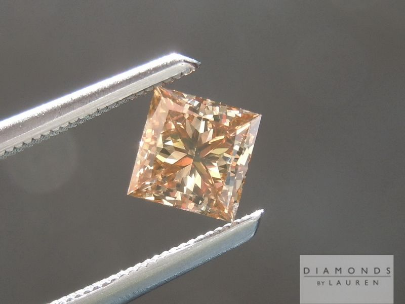 natural chocolate diamond ring