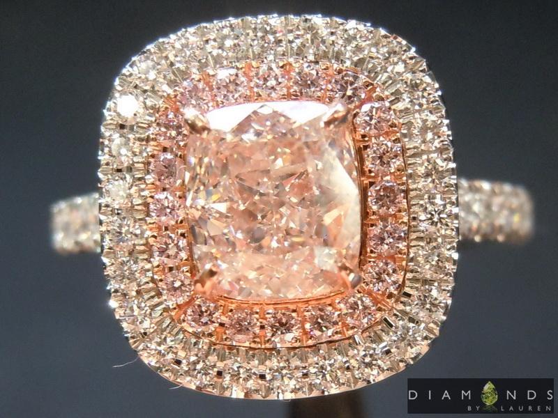 gia pink diamond ring
