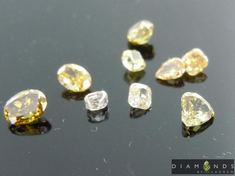 mixed diamond parcel
