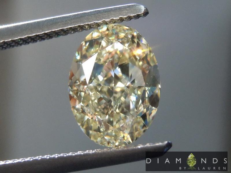 yellow diamondl