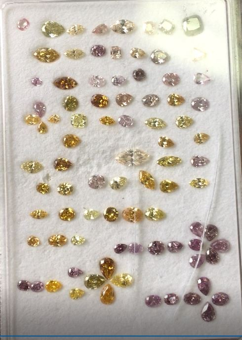 pink diamond parcel