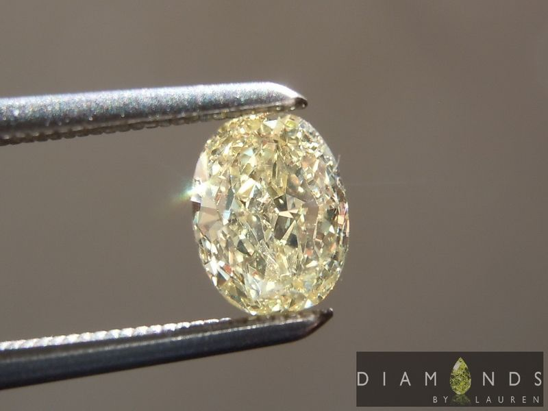 canary diamond pendant