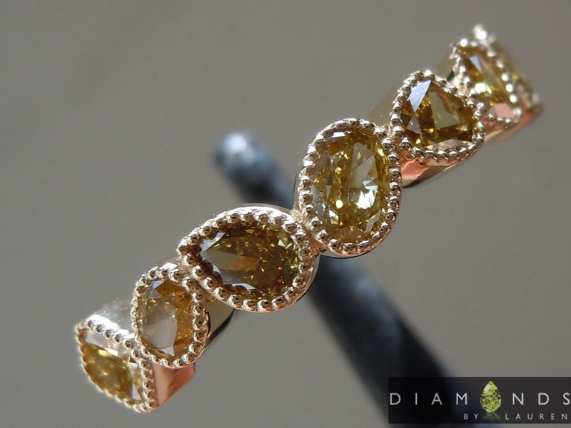 natural fancy color diamond ring