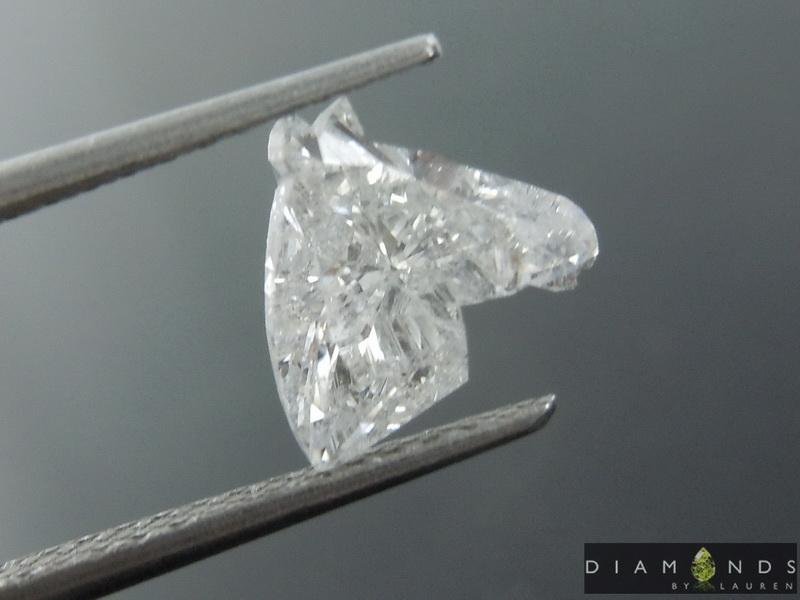 horsehead diamond ring