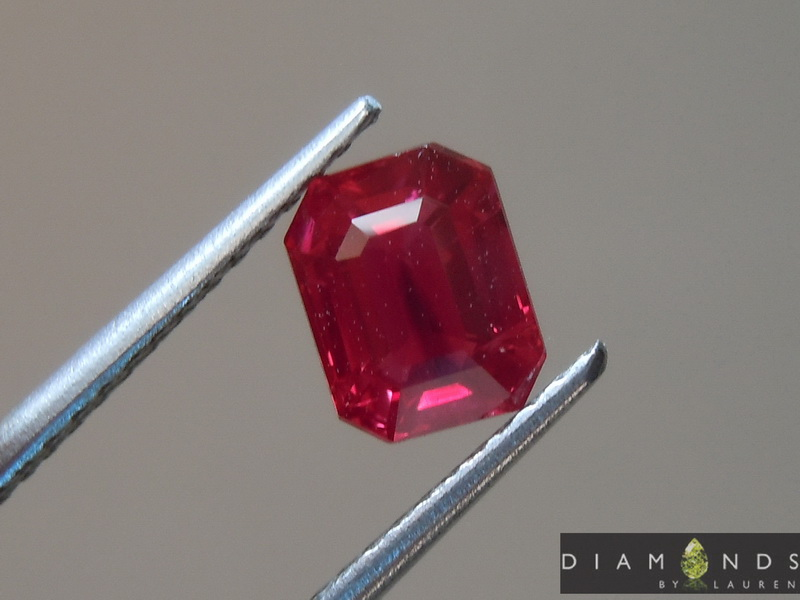 unheated natural ruby