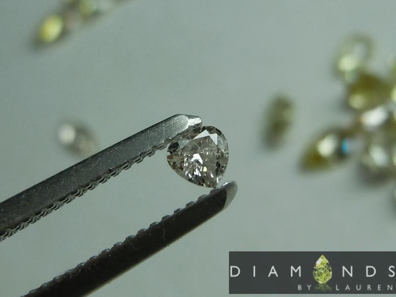 fancy color diamond parcel