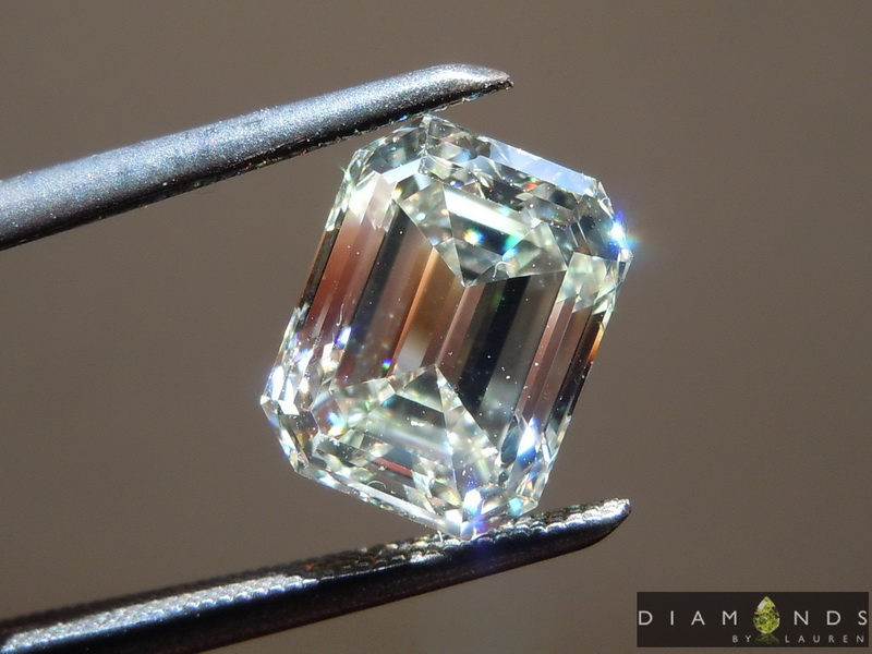 step cut diamond