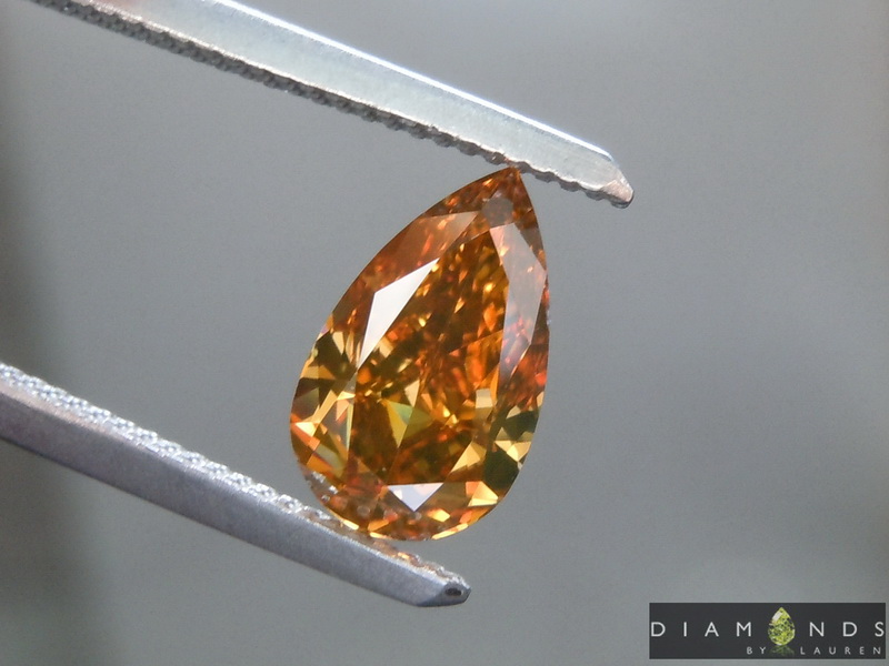 fancy orange diamond