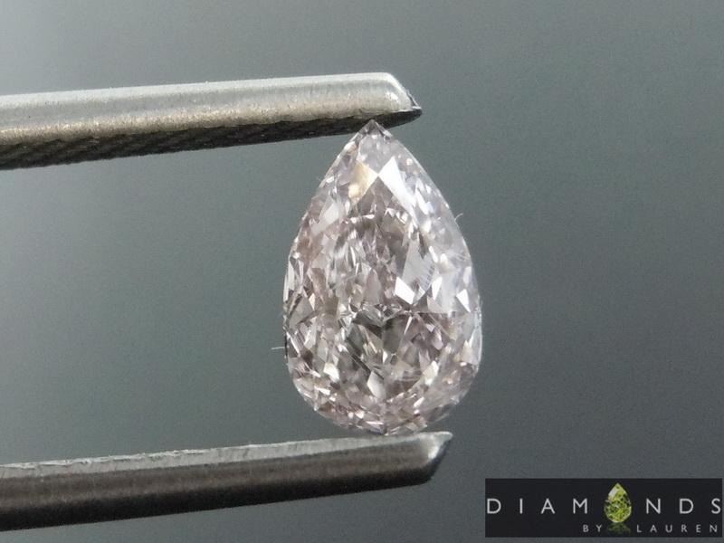 brownish pink diamond