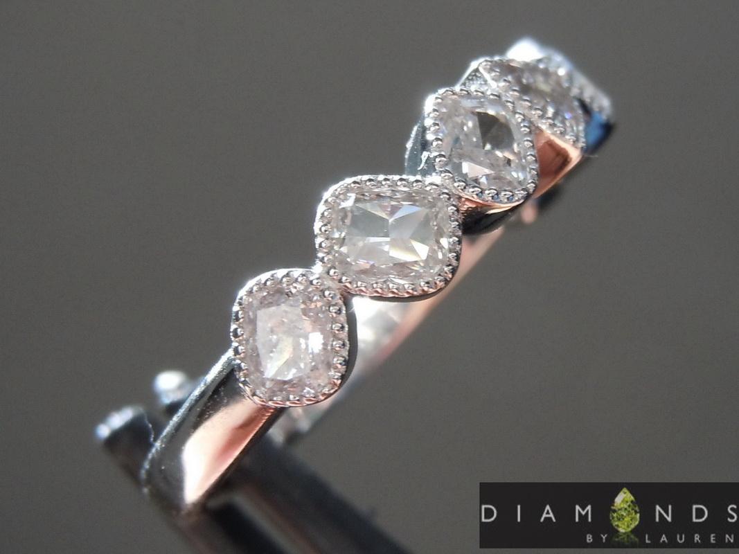 gray diamond ring