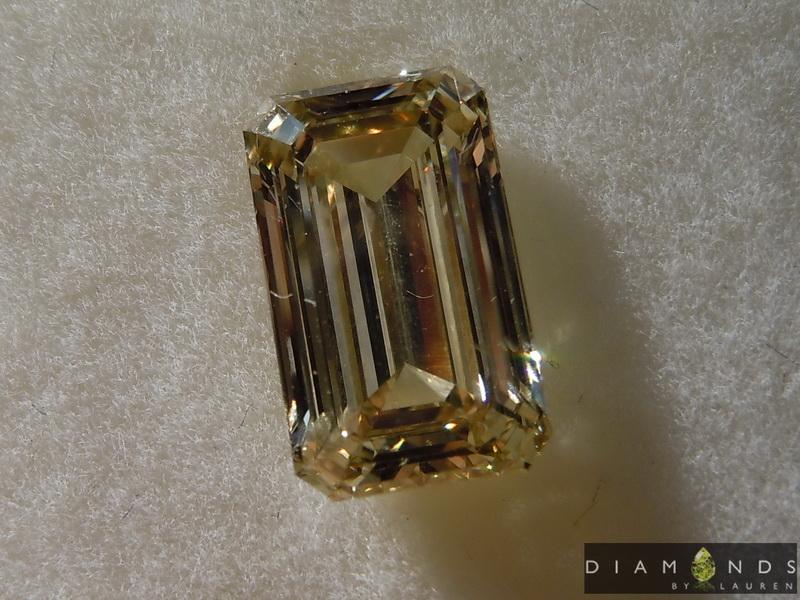 greenish diamond
