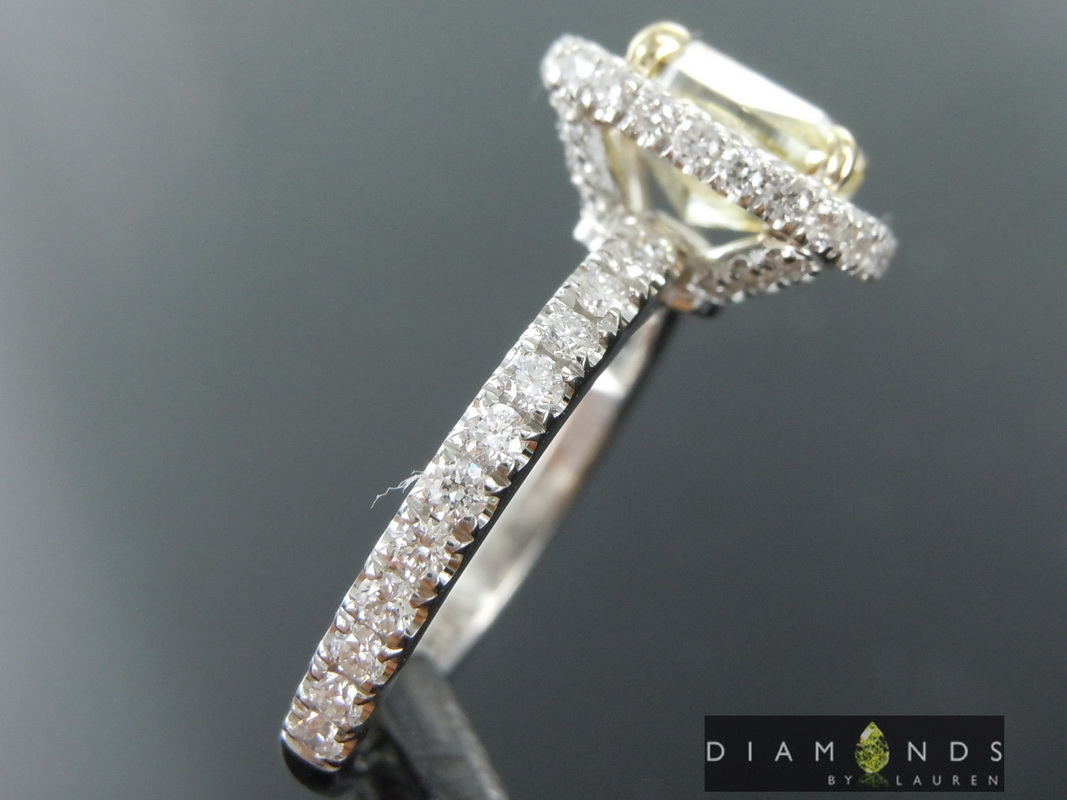 dual side halo ring