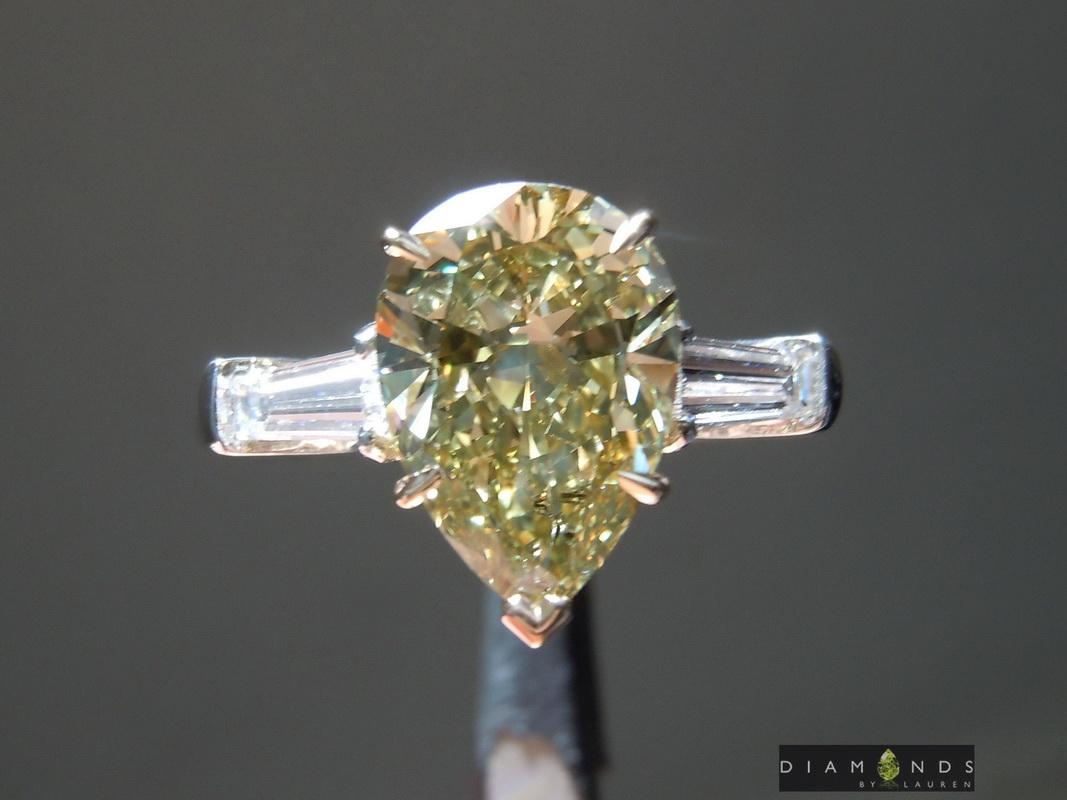green diamond ring