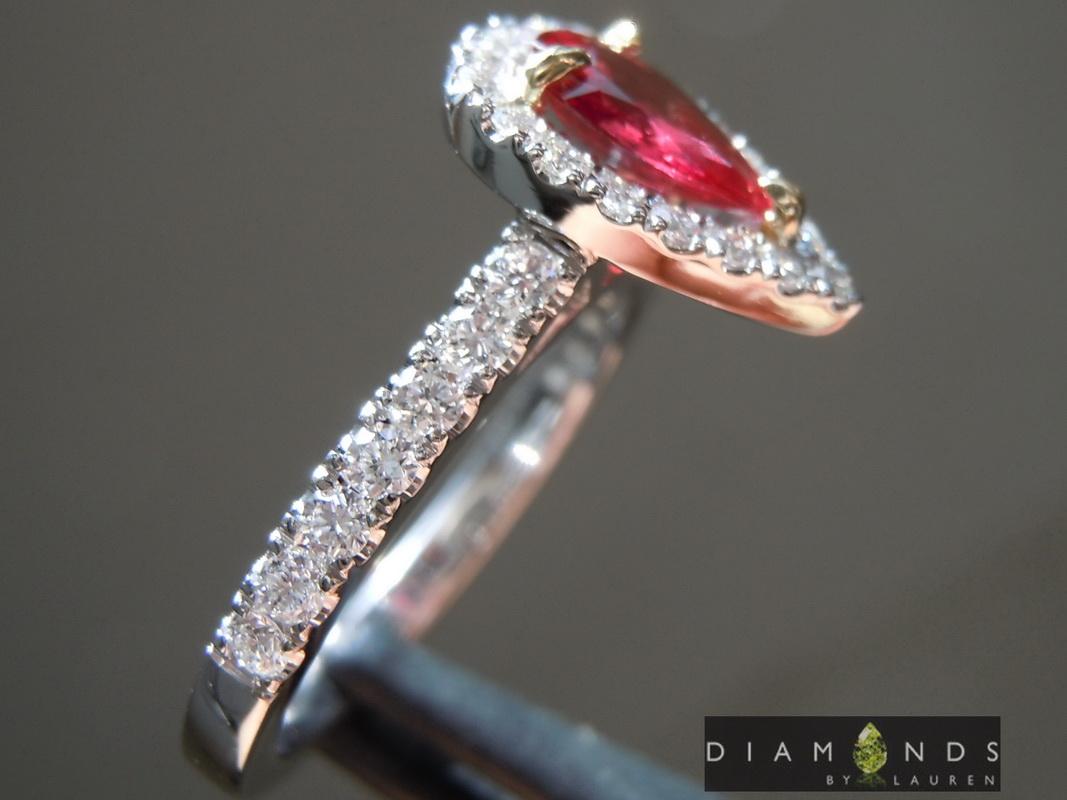 natural diamond ring