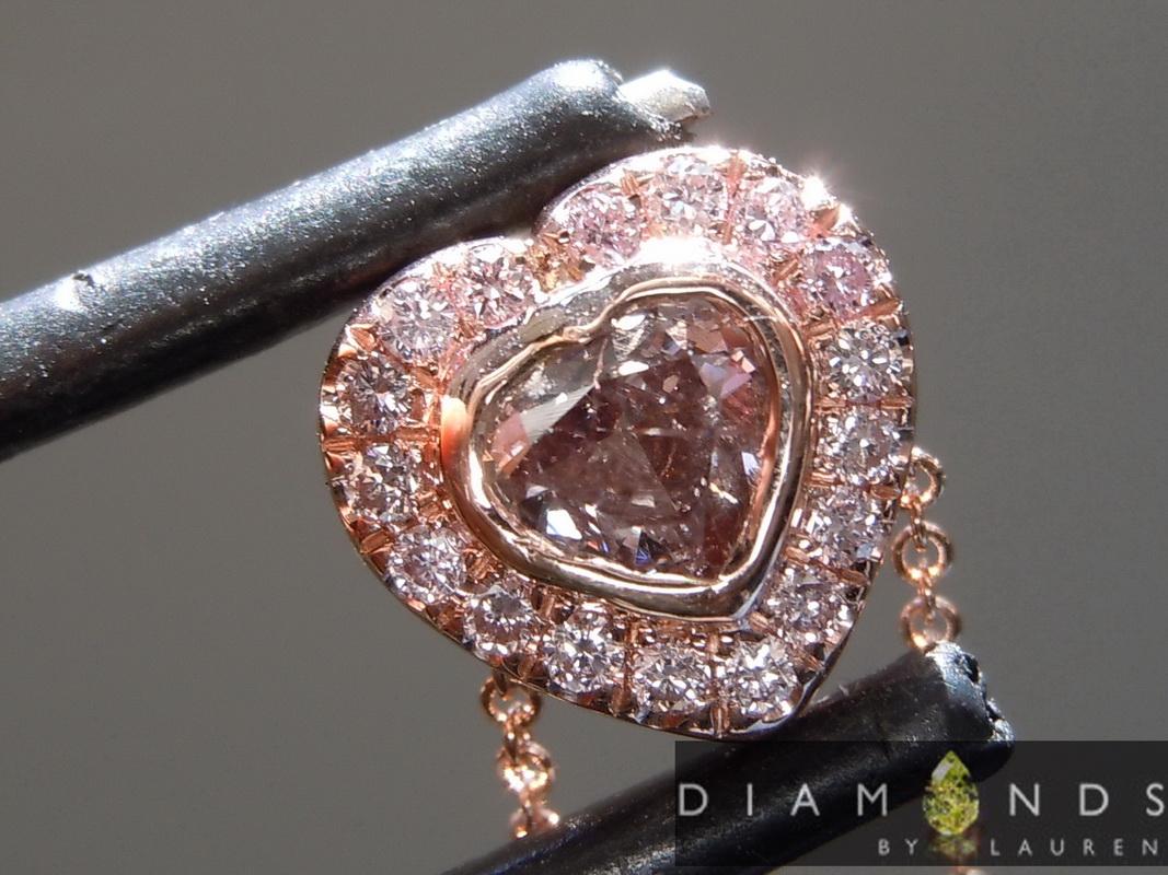 purple diamond necklace