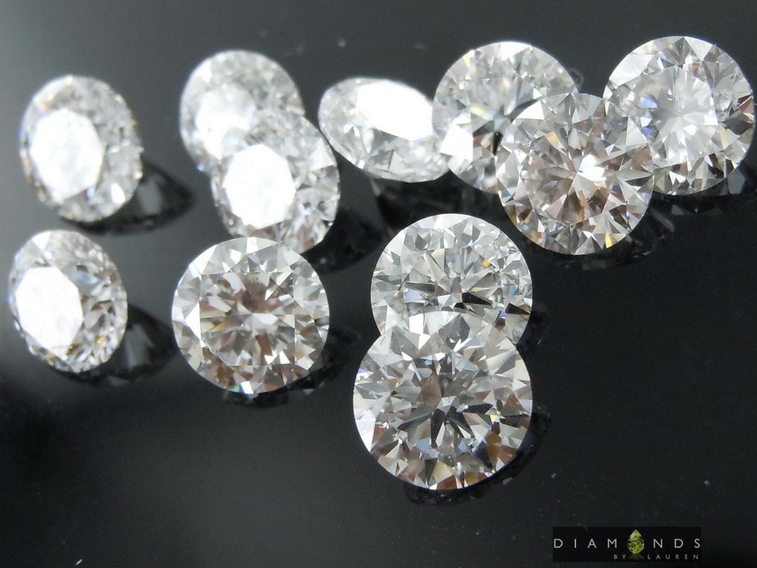lab grown diamond parcel